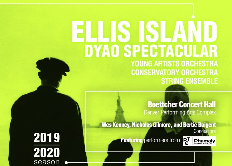 Ellis Island DYAO Spectacular Poster