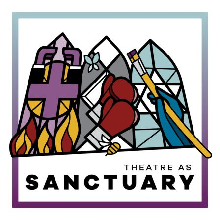 Theatre as Sanctuary artwork.